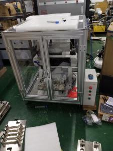自主研发ZP330数控CNC哑铃塑料缺口型样条制样机