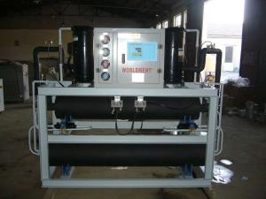 壳管式水冷开放式工业冷冻水恒温机组