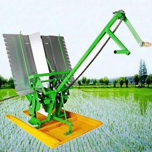 手动插秧机 小型手摇式水稻插秧机 两行水稻插秧机