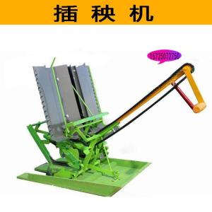 农用手摇式插秧机 两行人力手摇水稻插秧机 不弯腰插秧机