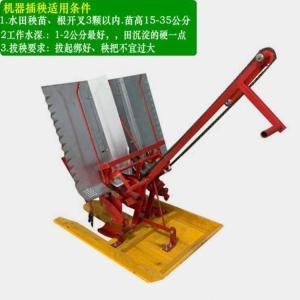 小型水稻种植机 播种深度可调水稻插秧机 水稻秧苗插秧机