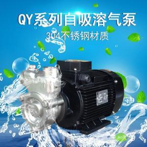 20QY-1不锈钢自吸式气液混合泵实验室气浮处理臭氧水制取设备