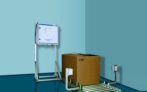 透过式微波水分测试系统MW-T