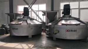 炮泥搅拌机采用轮碾行星式独特搅拌技术混合实力不容小觑