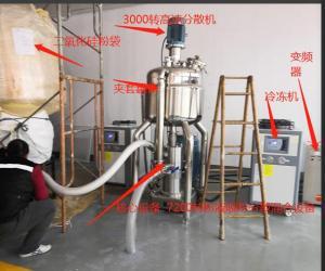 二氧化硅防火玻璃原液粉液混合設備