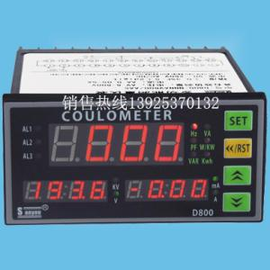 电压/电流/功率/功率因数综合表