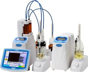 四通道容量法卡氏水分測定儀MKV-710M